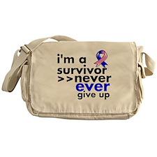 Survivor Male Breast Cancer Messenger Bag