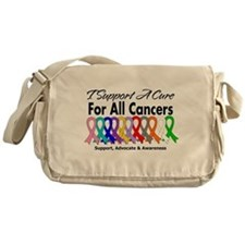 I Support A Cure For All Cancers Messenger Bag