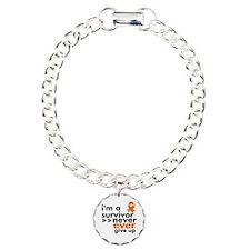 Never Give Up Kidney Cancer Bracelet