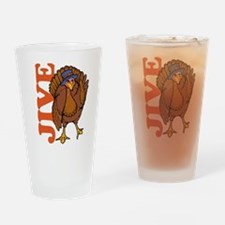 Jive Turkey Drinking Glass