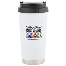 Take A Stand All Cancers Travel Mug