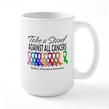 Take A Stand All Cancers Mug