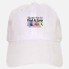 Together We Can Find A Cure Baseball Baseball Cap