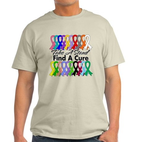 Take A Stand Find A Cure Light T-Shirt