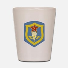 The Soviet Airborne Regiment Shot Glass