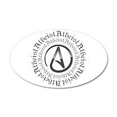 Atheist Circle Logo Wall Decal