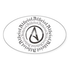 Atheist Circle Logo Decal