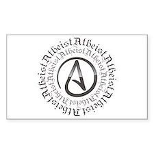 Atheist Circle Logo Decal