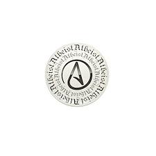 Atheist Circle Logo Mini Button (100 pack)