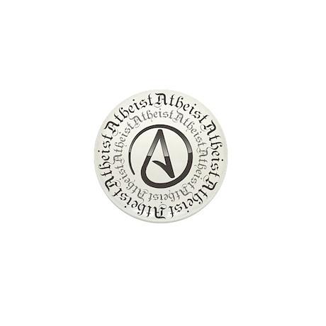 Atheist Circle Logo Mini Button