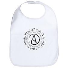Atheist Circle Logo Bib