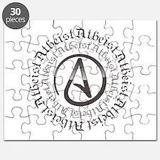 Atheist Circle Logo Puzzle