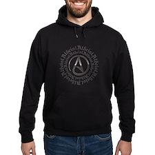 Atheist Circle Logo Hoodie