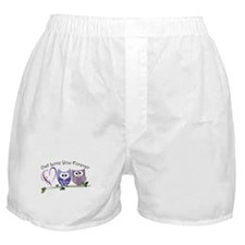 Owl Love You Forever Boxer Shorts