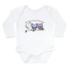 Owl Love You Forever Long Sleeve Infant Bodysuit
