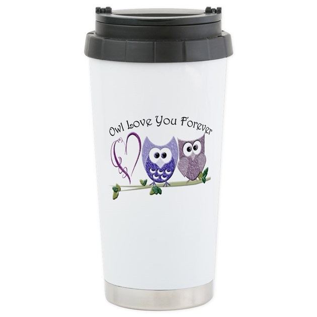 Owl Travel Mug Uk