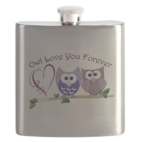 Owl Love You Forever Flask