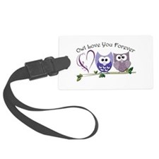 Owl Love You Forever Luggage Tag