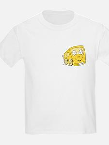 TEACHER'S YELLOW BUS Kids T-Shirt