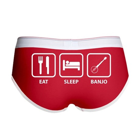 Eat Sleep Banjo Women's Boy Brief