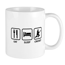 Eat Sleep Cricket Mug