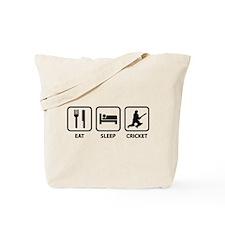 Eat Sleep Cricket Tote Bag