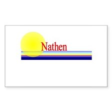 Nathen Rectangle Decal