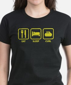 Eat Sleep Curl Tee