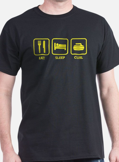 Eat Sleep Curl T-Shirt