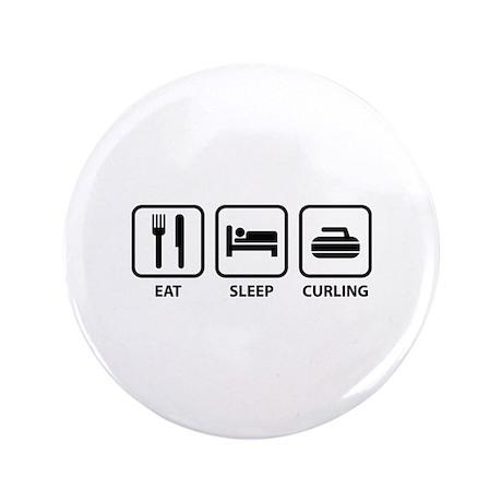 "Eat Sleep Curling 3.5"" Button (100 pack)"