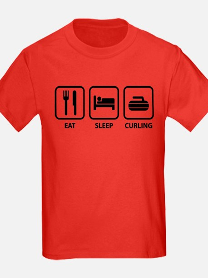 Eat Sleep Curling T