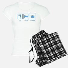 Eat Sleep Curling Pajamas