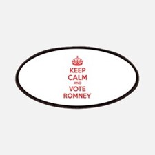 Keep calm and vote Romney Patches