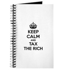 Keep calm and tax the rich Journal