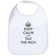 Keep calm and tax the rich Bib