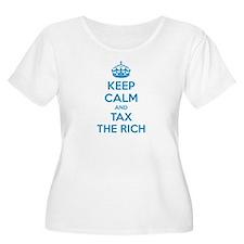 Keep calm and tax the rich T-Shirt