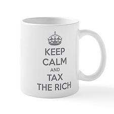 Keep calm and tax the rich Mug