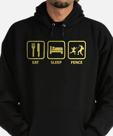 Eat Sleep Fence Hoody