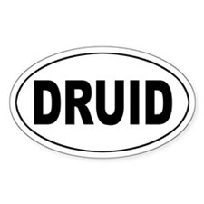 DRUID Oval Decal