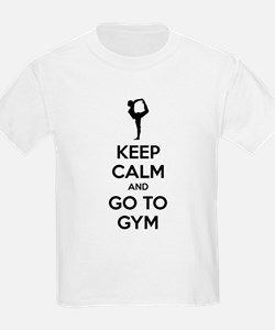 Keep calm and tax go to gym T-Shirt