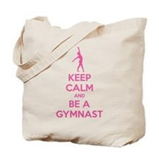 Keep calm and be a gymnast Tote Bag