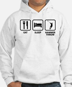 Eat Sleep Hammer Throw Hoodie