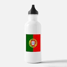 Portugal Flag Water Bottle