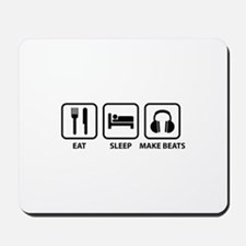 Eat Sleep Make Beats Mousepad