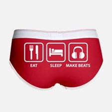 Eat Sleep Make Beats Women's Boy Brief