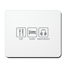Eat Sleep Make Beats Mousepad