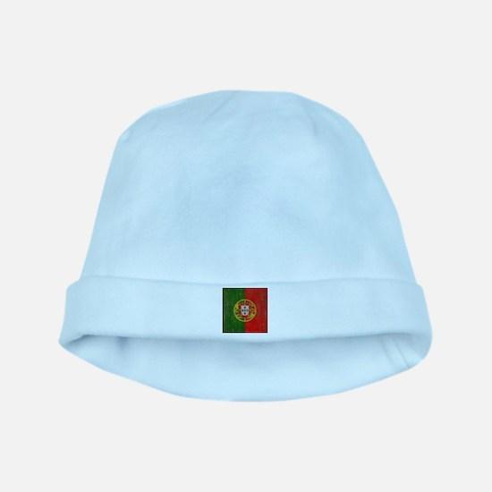 Vintage Portugal Flag baby hat