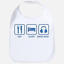 Eat Sleep Make Beats Bib