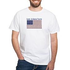 Camping American Flag T-Shirt