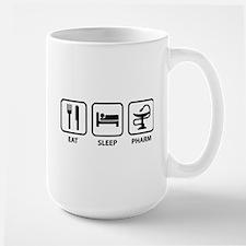 Eat Sleep Pharm Large Mug